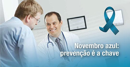 Novembro azul: prevenção é a chave